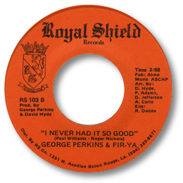 George Perkins Fir Ya Dance Dance Dance Cryin In The Street